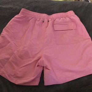 ralph lauren black and white gown ralph lauren pink swim trunks